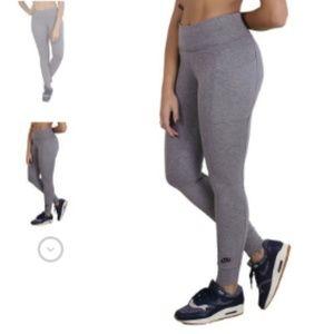 NIKE Carbon Heather High Waist Leggings Sportswear